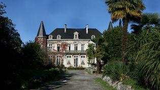 Le château appartenant à la communauté Tabitha's Place, à Sus (Pyérnées-Atlantiques), le 23 novembre 2006. (MAXPPP)