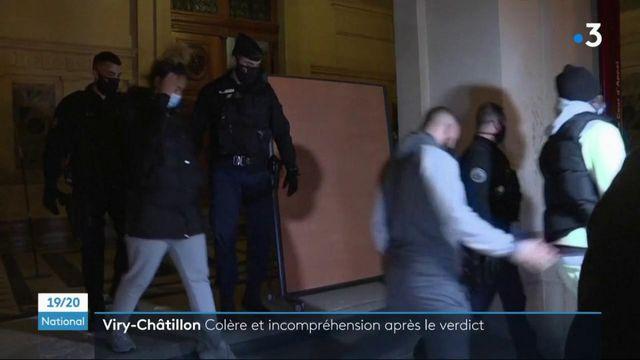 """Procès des policiers brûlés à Viry-Châtillon : des peines """"insuffisantes"""" pour la défense"""