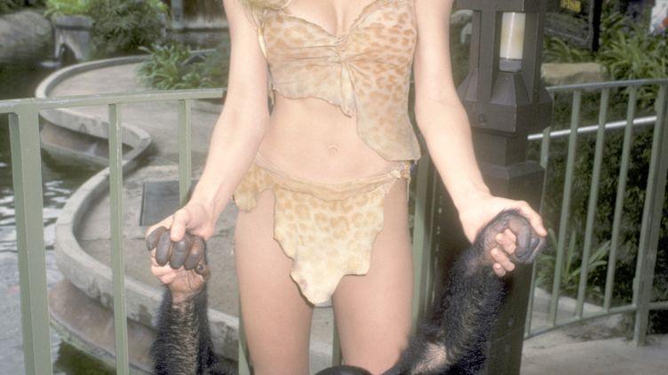 L'actriceTanya Roberts lors d'un shooting en Californie en 1983. (RON GALELLA, LTD. / RON GALELLA COLLECTION)
