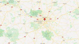 Paris, en Ile-de-France. (GOOGLE MAPS)