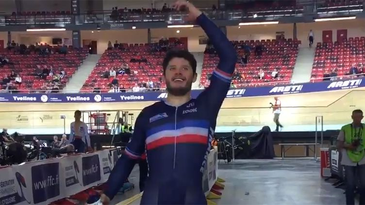 Le vélodrome de Saint-Quentin-en-Yvelines sourit au Français Quentin Lafargue