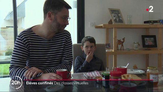 Covid-19 : des classes virtuelles en France