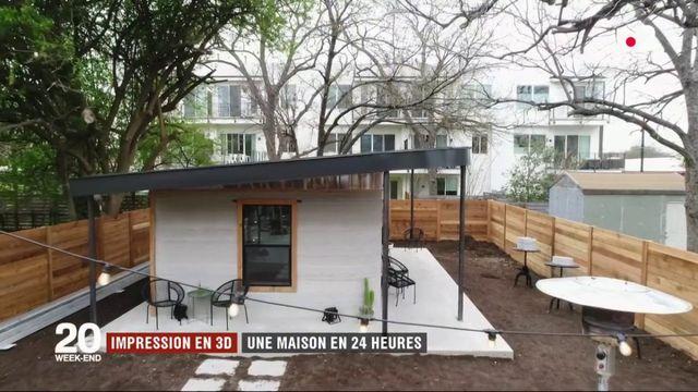 Impression en 3D : la prochaine révolution du bâtiment ?