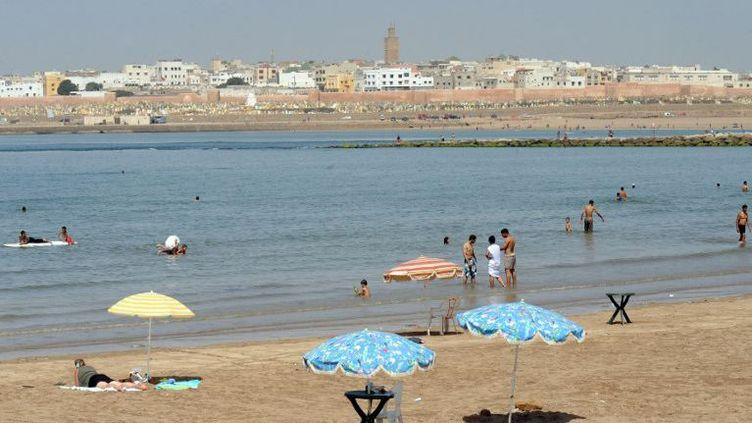 Plage aux environs de Rabat (Maroc) (ABDELHAK SENNA / AFP)