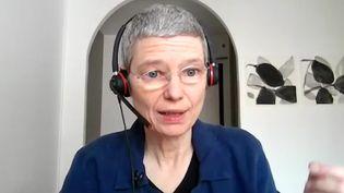 Sandrine Fournier, directrice du Financement recherche et associations pour le Sidaction. (FRANCEINFO)