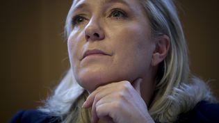 Marine Le Pen, le 31 octobre 2015 à Beauvais (Oise). (MAXPPP)