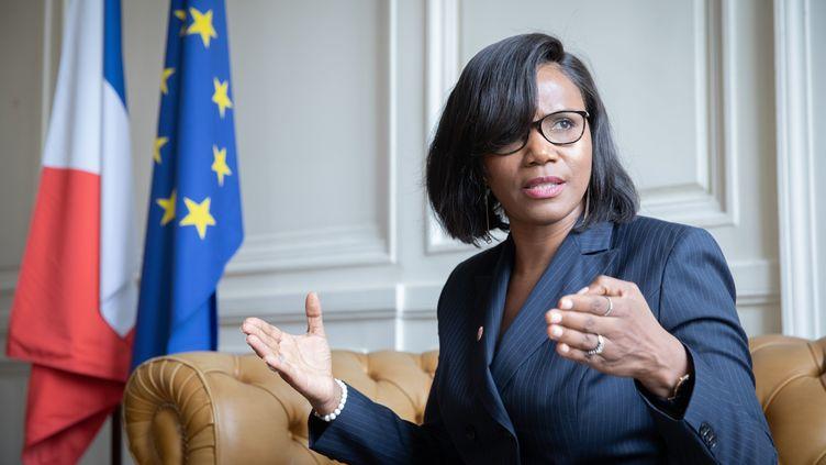 Elisabeth Moreno, ministre déléguée à l'Égalité et la diversité, en juillet 2020. (FRED DUGIT / MAXPPP)