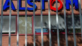 Le site d'Alstom à Belfort en octobre 2016. (SEBASTIEN BOZON / AFP)