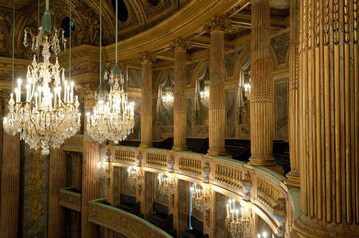 L'opéra royal de Versailles  (STEVEN FEDERICS/SIPA)