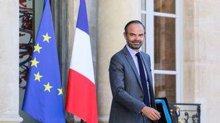 Le Premier ministre français, Edourad Philippe, à la sortie du conseil des ministres le 18 juin 2018. (LUDOVIC MARIN / AFP)