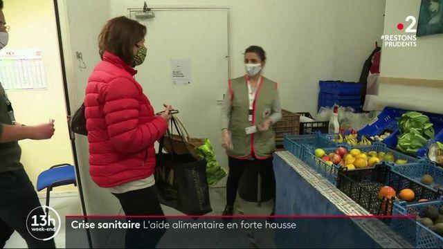 Crise sanitaire : l'aide alimentaire en forte hausse