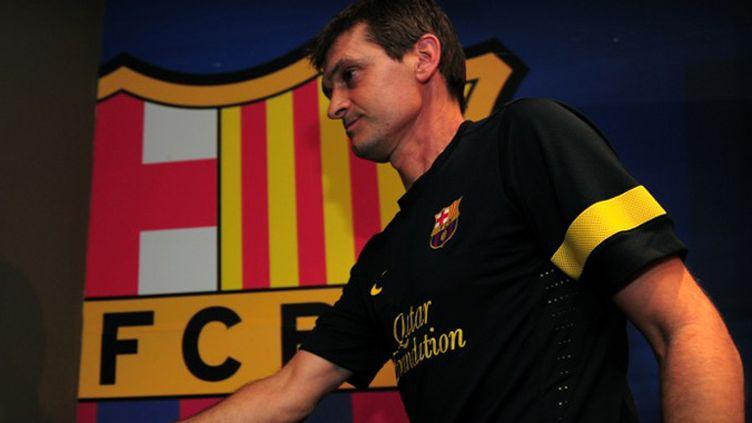 L'entraîneur de Barcelone, Tito Vilanova