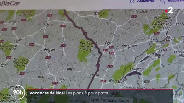 Vacances de Noël : les plans B des usagers habituels de la SNCF