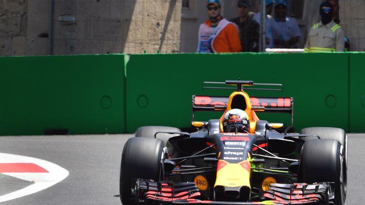 La Red Bull de Daniel Ricciardo (ALEXANDER NEMENOV / AFP)