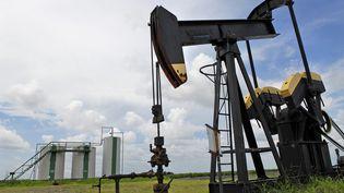 Exploitation d'un puits de petrole au Texas. (MAXPPP)