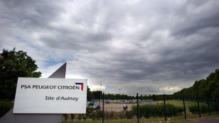 L'usine PSA d'Aulnay est menacée de fermeture d'ici 2014, selon la CGT (AFP/Martin Bureau)