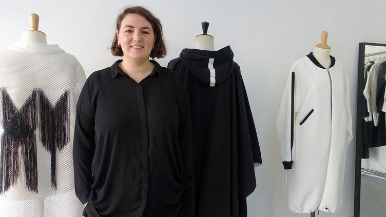 Cécile Dallencon, la créatrice de la marque XY unisexe  (Corinne Jeammet)