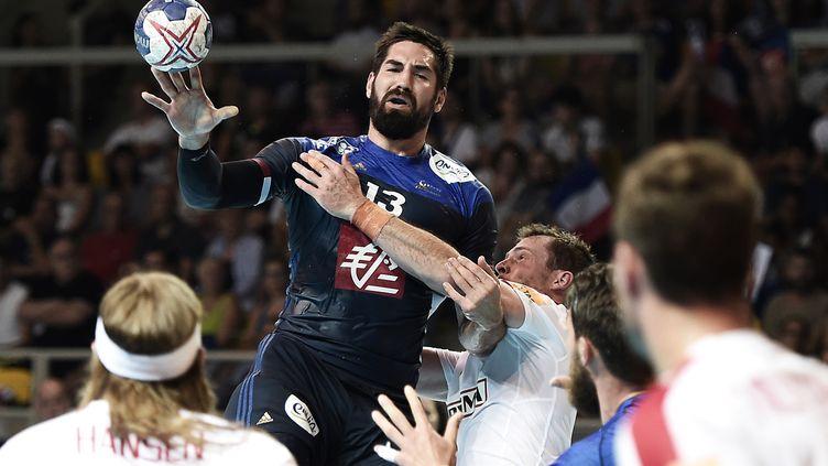 Nikola Karabatic fêtera sa 253e sélection lors de cette demi-finale. (FREDERICK FLORIN / AFP)