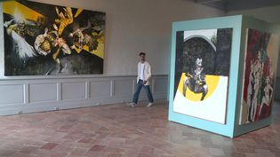 Le peintre Emmanuel Bornstein, figure emblématique de l'art contemporain, se livre dans une exposition traversée par ses blessures, ses ambivalences mais aussi ses joies. (France 3 Occitanie)