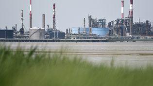 Le dépôt de la raffinerie de Donges (Loire-Atlantique), photographiée le 7 juin 2016, fait partie des sites bloqués le 6 décembre. (JEAN-SEBASTIEN EVRARD / AFP)