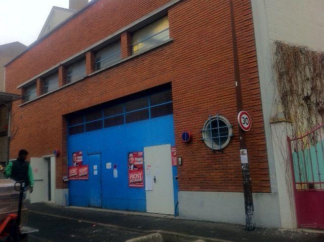 L'Usine, siège de campagne de Jean-Luc Mélenchon aux Lilas (AB)