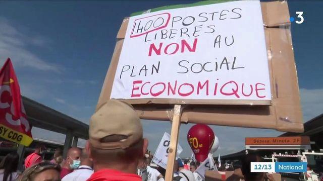 Transports : les salariés des Aéroports de Paris protestent contre la baisse des salaires