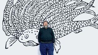 Détail de l'affiche de l'exposition Ai Weiwei au Bon Marché  (Bon Marché )