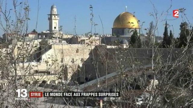 Syrie : le monde face aux frappes américaines
