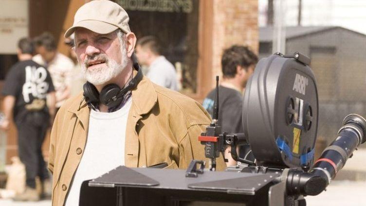 """Brian De Palma sur le tournage du """"Dahlia noir""""(2006)  (Universal Pictures / Millennium Fi / Archives du 7eme Art / Photo12)"""