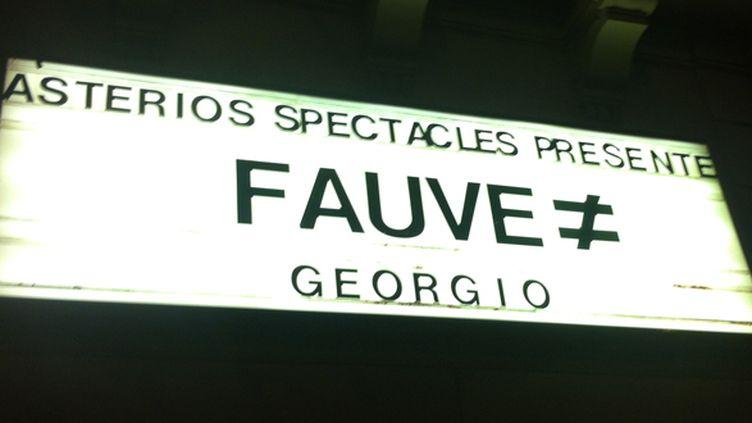 Fauve en haut de l'affiche au Bataclan, février 2014.  (Laure Narlian / Culturebox)