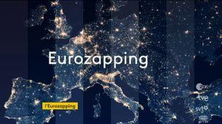 Comme tous les soirs, tour d'horizon, lundi 18 mai, des différents JT européens. (FRANCEINFO)