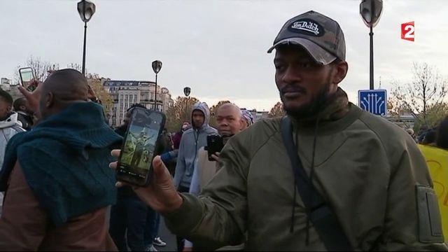 Esclavagisme en Libye : manifestation à Paris