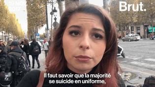 Le désespoir des femmes de policiers après l'augmentation des suicides chez les forces de l'ordre. (Brut.)