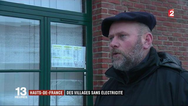 Tempête Ana : coupures de courant dans le nord de la France