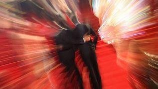 La montée des marches sous les flashes au Festival de Cannes  (VALERY HACHE / AFP)