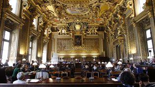 Le 130e anniversaire du Conseil supérieur de la magistrature, en 2013 à Paris. (THOMAS SAMSON / AFP)