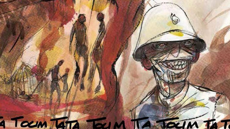Extrait de la BD «Congo 1905, le rapport Brazza». Une BD historique qui nous ramène au début du XXe siècle dans le Congo, colonie française. (Futuropolis Bailly et Thil)