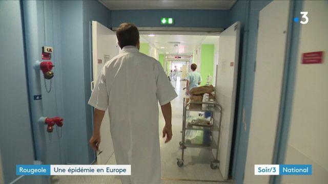 Rougeole : une épidémie en Europe