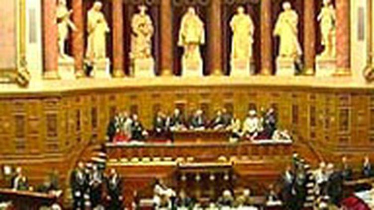 L'hémicycle du Sénat