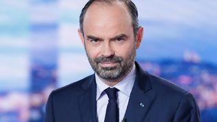 Le Premier ministre Edouard Philippe est l'invité du journal de TF1, le 6 décembre 2018. (THOMAS SAMSON / AFP)
