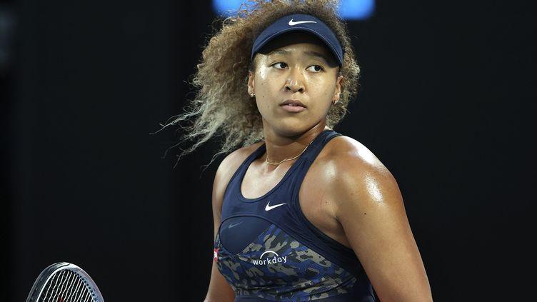 Naomi Osaka tente de glaner un quatrième titre du Grand chelem face à Jennifer Brady. (DAVID GRAY / AFP)