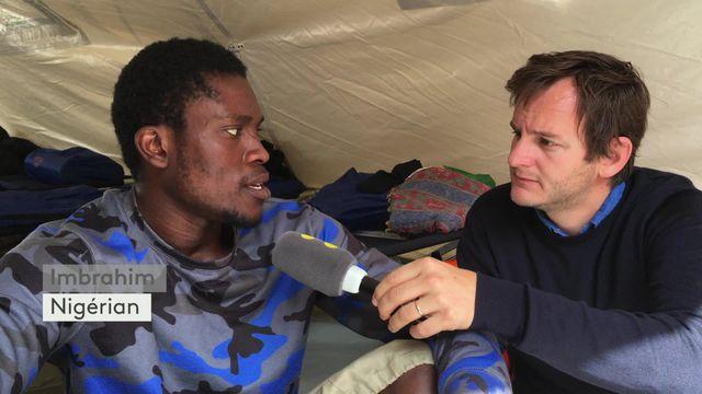 Migrants : le témoignage d'Ibrahim, arrivé en France il y a une semaine