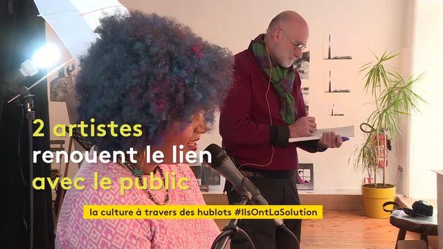 À Saint-Etienne, des artistes se produisent à travers les hublots d'une galerie