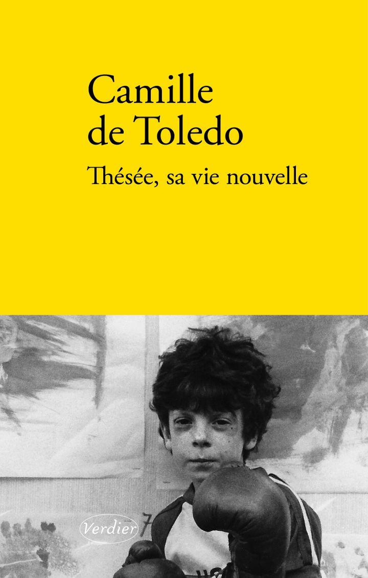 """Couverture de """"Thésée, sa vie nouvelle""""; de Camille de Toledo (Verdier, 2020)"""
