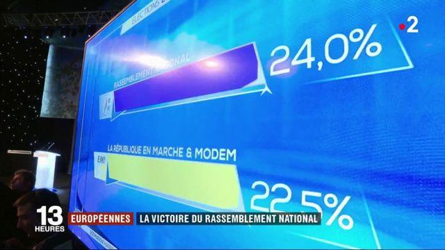 Élections européennes : le Rassemblement national en tête, comme en 2014