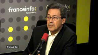 """Georges Fenech, secrétaire national du parti Les Républicains en charge de la justice, était l'invité de """"L'Interview J-1"""", jeudi 22 février. (FRANCEINFO)"""
