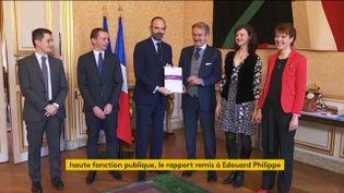 Frédéric Thiriez a remis son rapport sur l'Ena (FRANCEINFO)