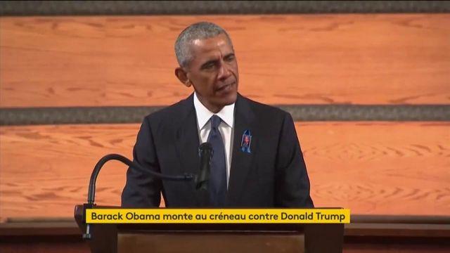 Etats-Unis : Barack Obama s'attaque à Donald Trump
