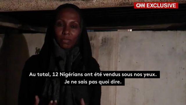Vente aux enchères de migrants en Libye