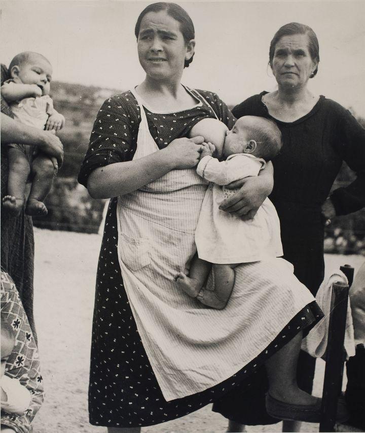 Kati Horna, Sans titre, Vélez Rubio, province d'Almeria, Andalousie, 1937, Archivo Privado de Fotografía y Gráfica Kati y José Horna  (2005 Ana María Norah Horna y Fernández)